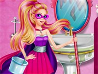 Super Barbie Groom The Room