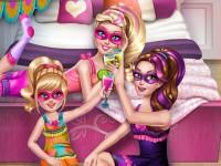 Super Barbie Pyjama Party