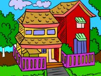 Sweet Home Coloring
