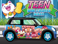 Teen Mini Cooper Car Wash
