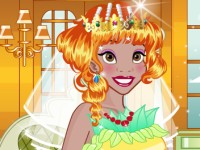 Tiana Wedding Dress Up