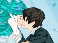 Underwater Kissing