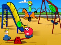 Veggie Playground Girl Games Baby Games